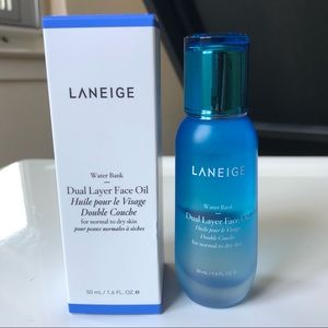 New LANEIGE Water Bank Dual Layer Face Oil